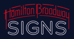 Hamilton Broadway Signs